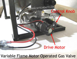 If so select a SKY MRCK remote below and simply connect to the wire terminals extending from the motor (your valve may differ in appearance from example)